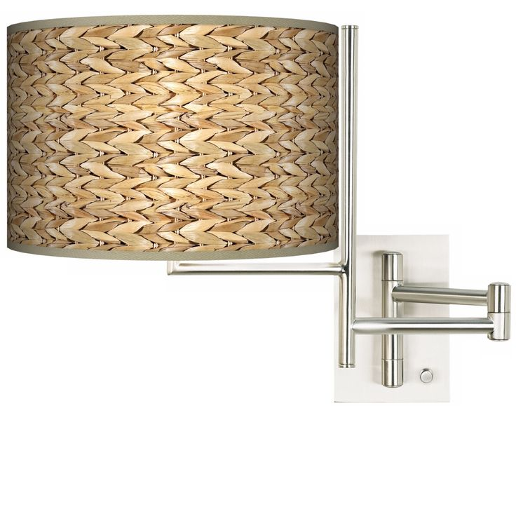 Seagrass Plug-in Swing Arm Wall Light - Style # K1148-N5283