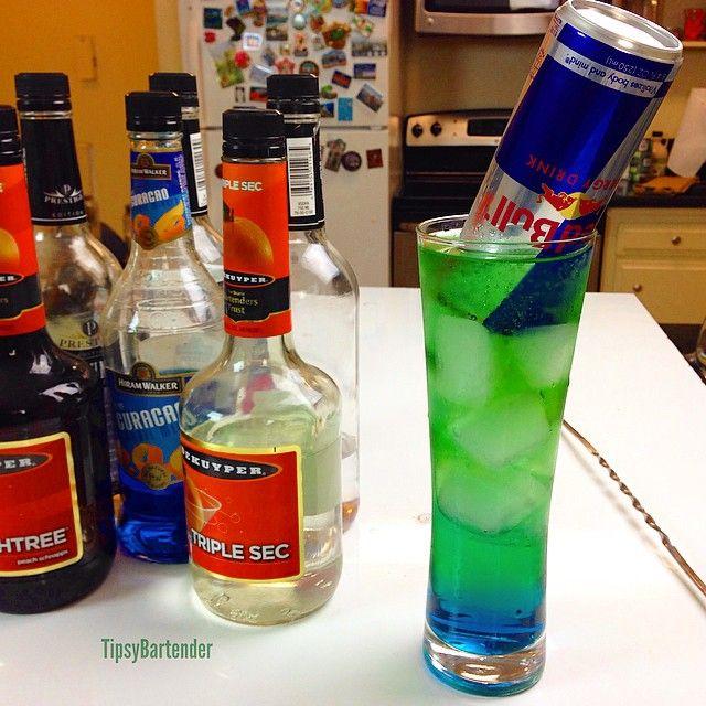 Irish Trash Can Cocktail
