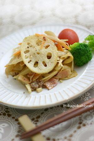 白い金平 by 小春ちゃんさん   レシピブログ - 料理ブログのレシピ満載!