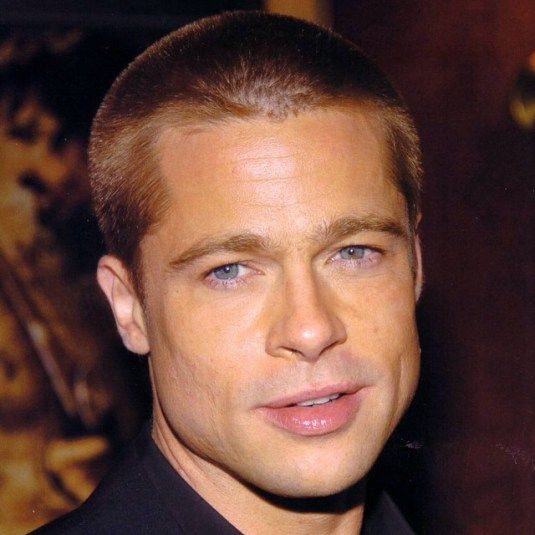 Brad Pitt Hairstyles 17 Best Brad Pitt Hairstyles Evolution Images On Pinterest  Hair