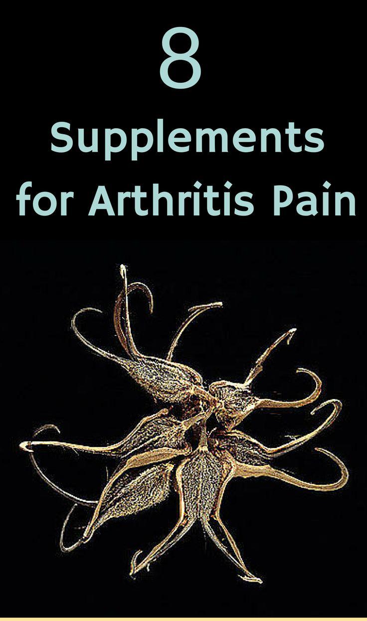 Supplements for Arthritis Pain