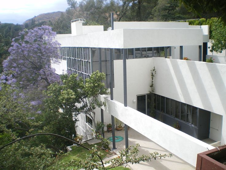 richard joseph neutra(1892-1970), lovell house, 1929. los angeles, california, usa. photo Los Angeles