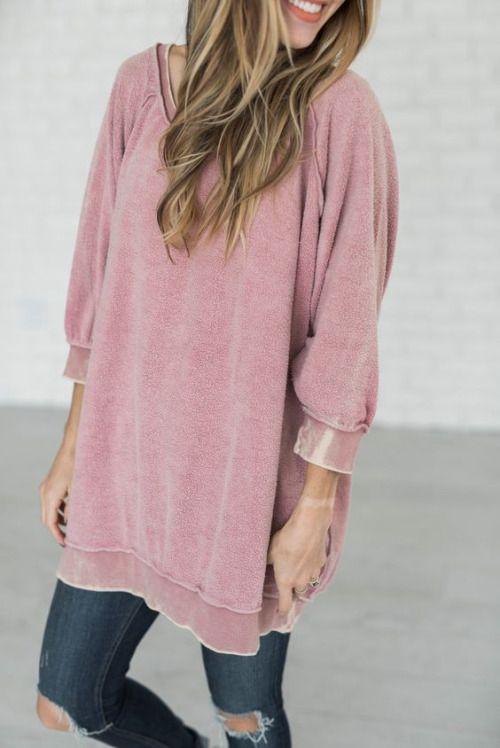 the perfect sweatshirt