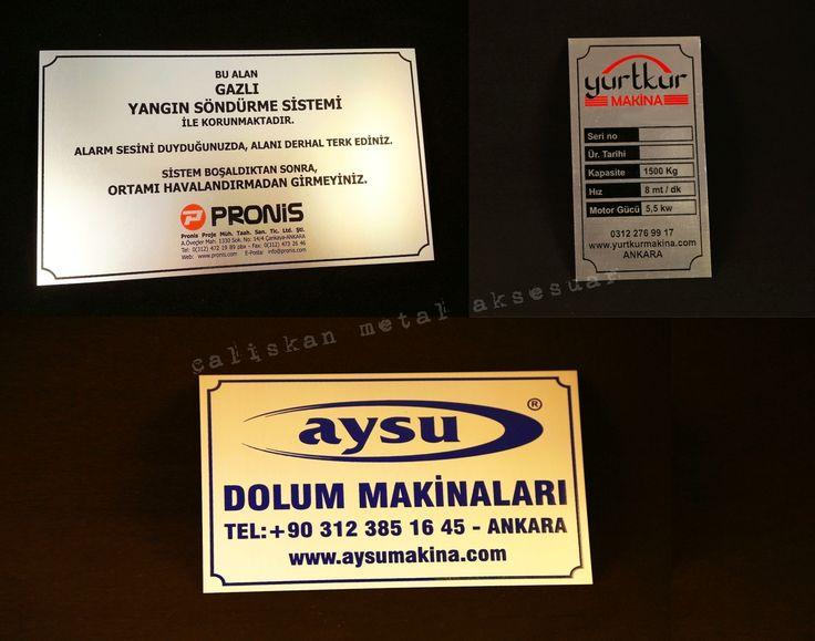 asit indirme, aluminyum, metal etiket, metal label, özel imalat, custom manufacturing, Ostim, Ankara, Turkey