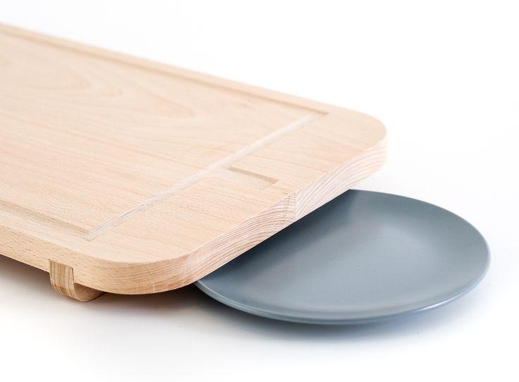 Pi chopping board - Tabla de cocina Pi
