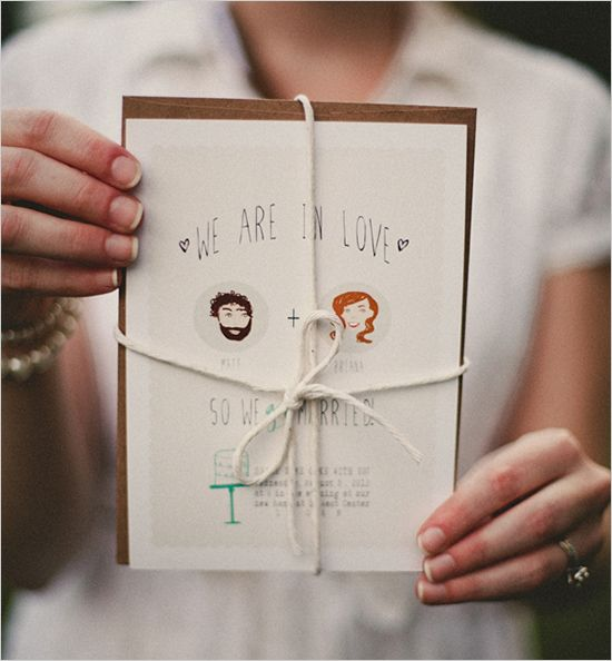 Peter Loves Jane designed these free wedding invitations, so that you can write in the missing info – your names and the party particulars – with your own fabulous handwriting!