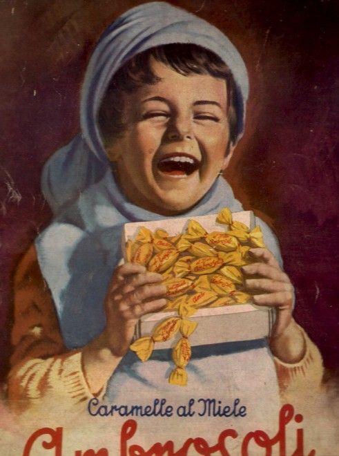 #caramelle ambrosoli vintage advertising