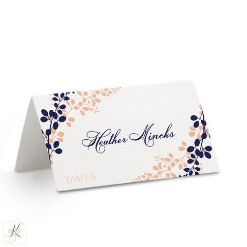 Best Wedding Place Card Templates Images On   Card