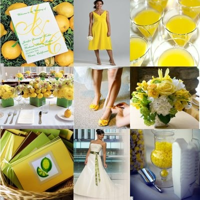 lemon and lime wedding