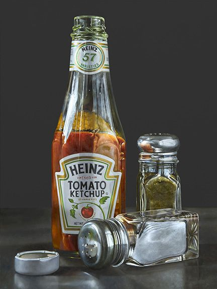 This is a painting...looks so real. From Paintings in Oil blog