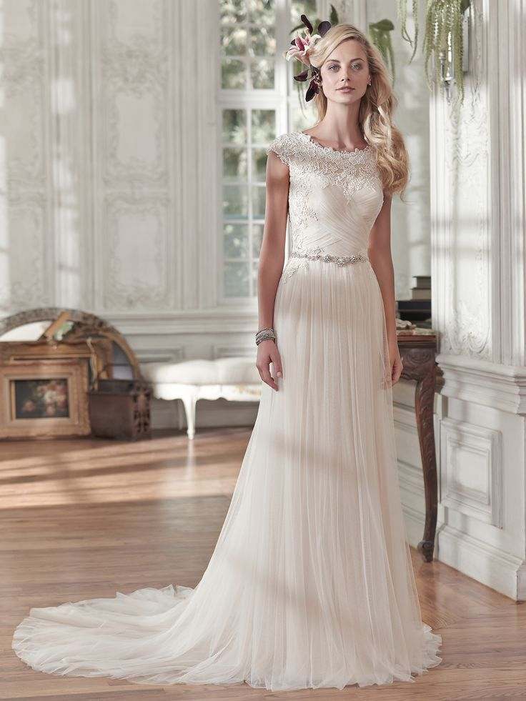 17 best Long wedding gowns images on Pinterest | Wedding frocks ...