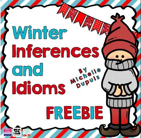 FREE Winter Inferences and Idioms.