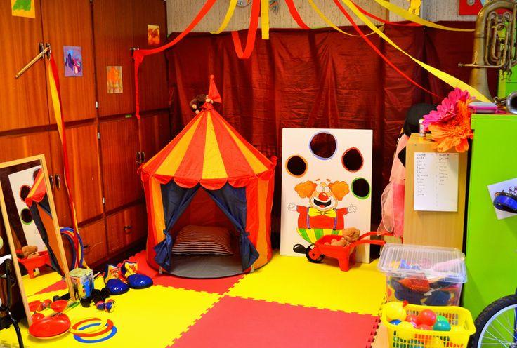Circus in mijn klasje.