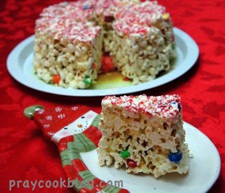 Popcorn Cake for Fun and Taste!