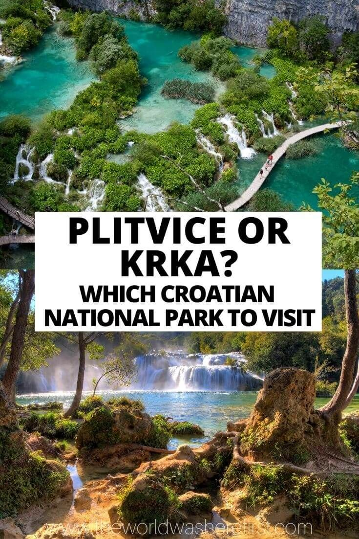 Plitvice Or Krka Which Croatian National Park To Visit Krka National Park Krka National Park Croatia Plitvice Lakes National Park