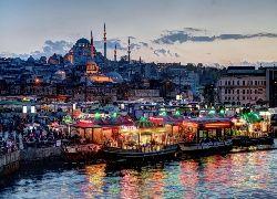 Istambuł, Turcja, Panorama