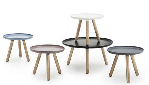 Med sit enkle, stilrene udtryk, passer Tablo sofabordet sammen med mange forskellige typer møbler. #indretning #design #danskdesign #normanncopenhagen
