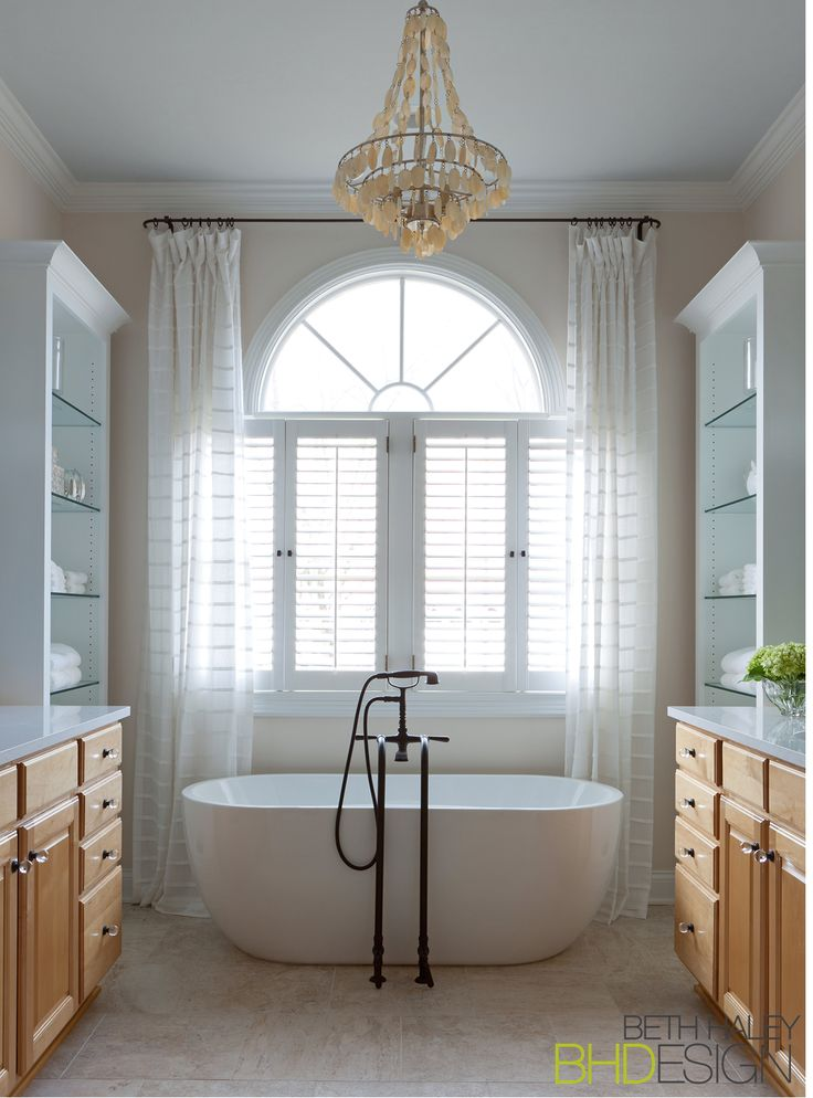 Master Bath with Freestanding Tub & Tub Filler