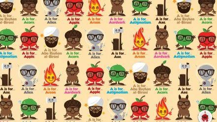 Humor hipster jthree concepts vector art jared nickerson wallpaper