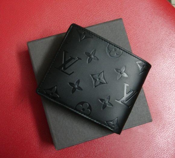 LV Black Wallet