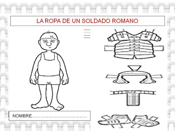 Resultado de imagen de proyecto infantil roma. los soldados