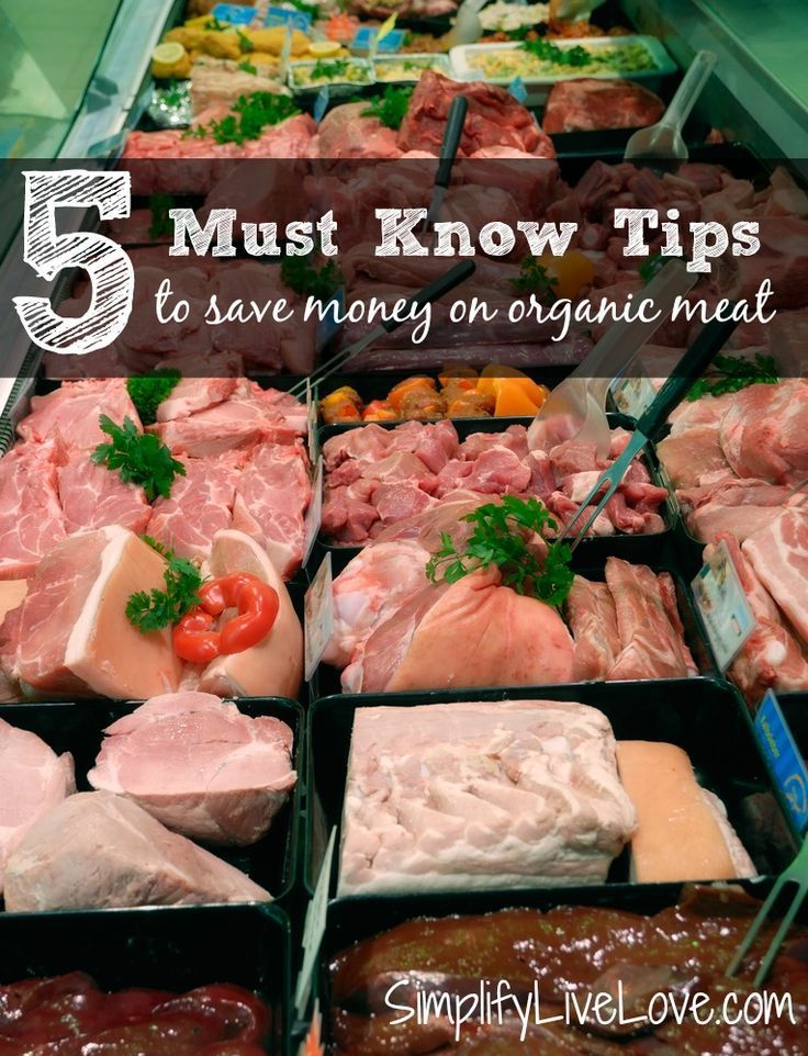 Eating organic meat might be more important than organic fruit & veg, but it can be expensive. Do you know these 5 tips to save money on organic meat?