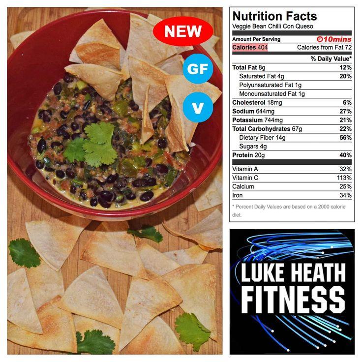 Veggie Bean Chilli Con Queso – Luke Heath Fitness