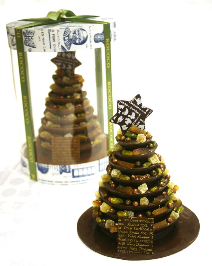 Rococo Christmas Tree - Table Décor for sharing. - www.rococochocolates.com