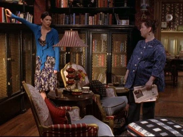 Dragonfly library from Gilmore Girls