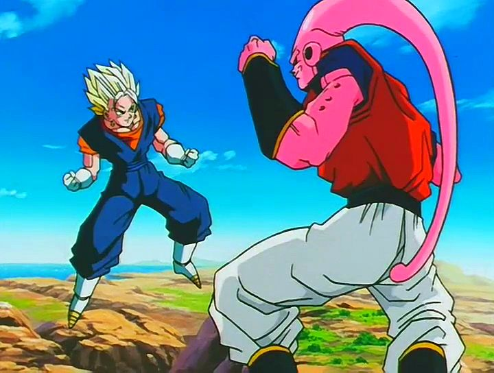 Vegito vs. Super Buu