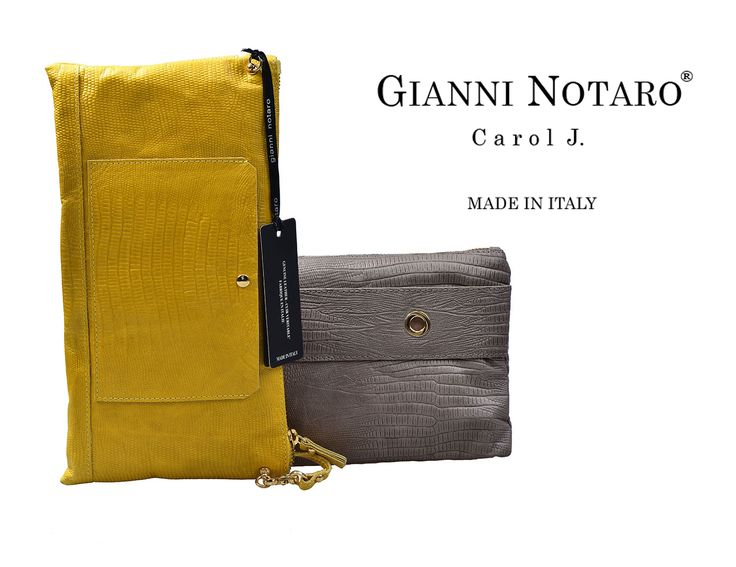 Your days and nights... have style with the new handbag collection by GIanni Notaro! Discover more in Galleria Di Scarpe.