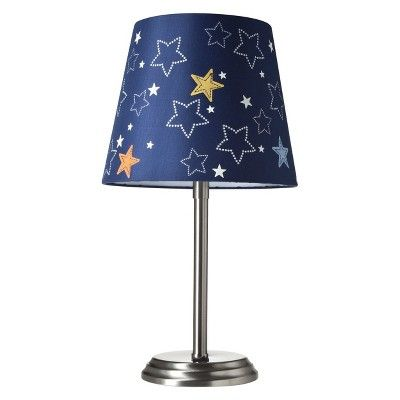 Lamp for outer space nursery