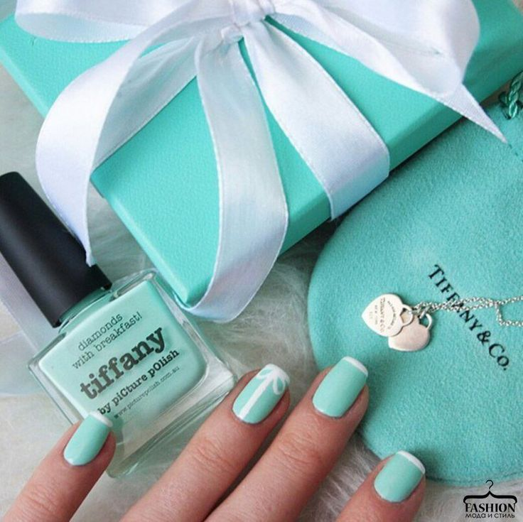 696 best nails images on pinterest nail design cute nails and tiffany nails little blue box heart box box prinsesfo Images