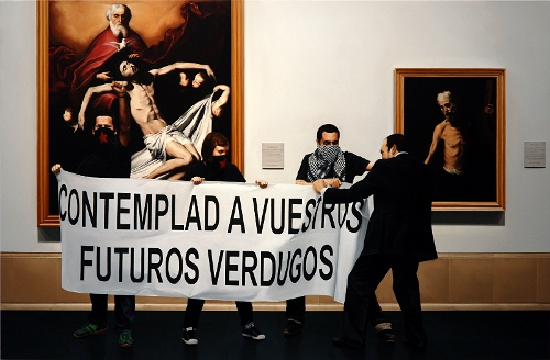 'Action of Assault on Art 9, Madrid.' (2008) by Kepa Garraza