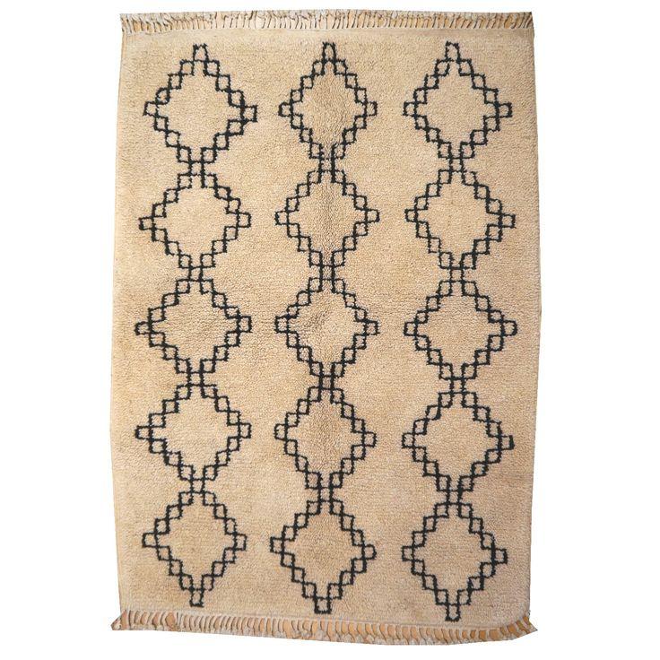 14974 Azilal Vintage 140 x 100 cm Berber Teppich Marokko Sammlerteppich
