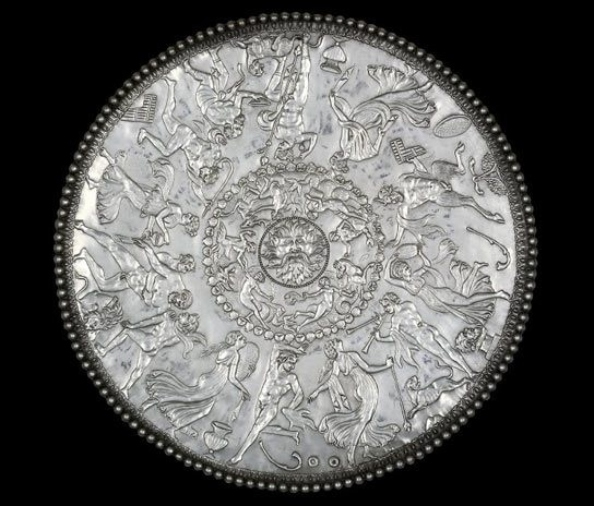 The Great dish from the Mildenhall treasure.