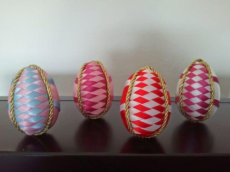 hobby e passioni racchiusi nel mio cassetto: Uova di Pasqua in patchwork senz'ago - Easter eggs...