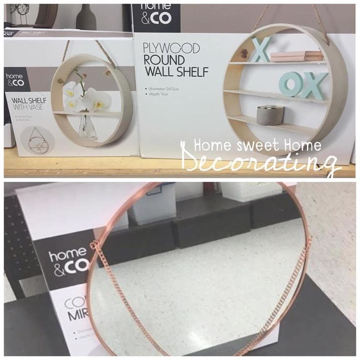 New items- top two spotted by @home.sweet.home.decorating $9 & $19 the bottom mirror by @tamaralee for $19