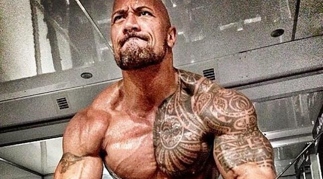 The Rock Tweets 'Hercules' Diet Plan and Workout Pics -  Dwayne Johnson is leaving no stone unturned to get into epic shape for 'Hercules: The Thracian Wars.' June 2013 | Declan O'Kelly
