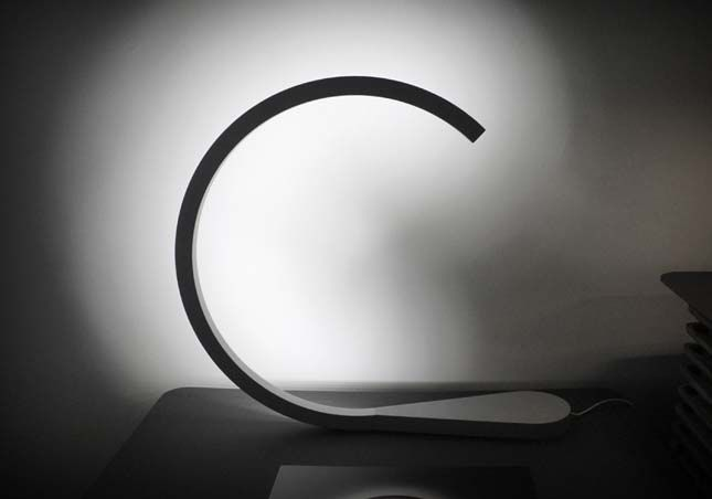 moon lamp by Anäis Gauthier