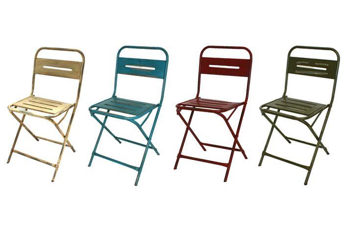 Imágenes de las sillas de exterior modelo Petrona