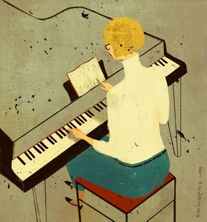 Emiliano Ponzi-- Piano lessons