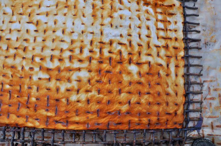LuAnn Kessi: Rust Dyeing…..