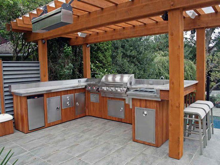 Best 25+ Prefab outdoor kitchen ideas on Pinterest Portable - outside kitchen ideas