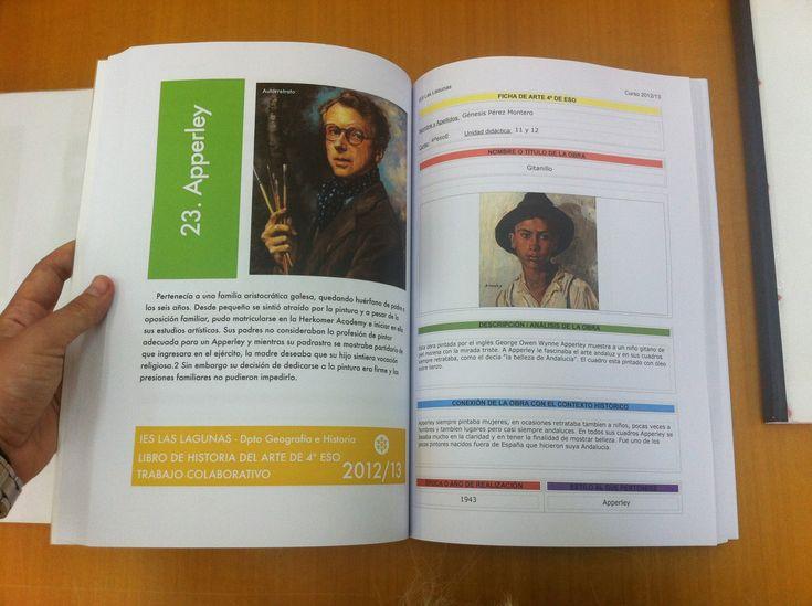 Libro de Historia del Arte creado por alumnos de 4º de ESO a partir de todas las obras y estilos artísticos trabajados durante el curso.