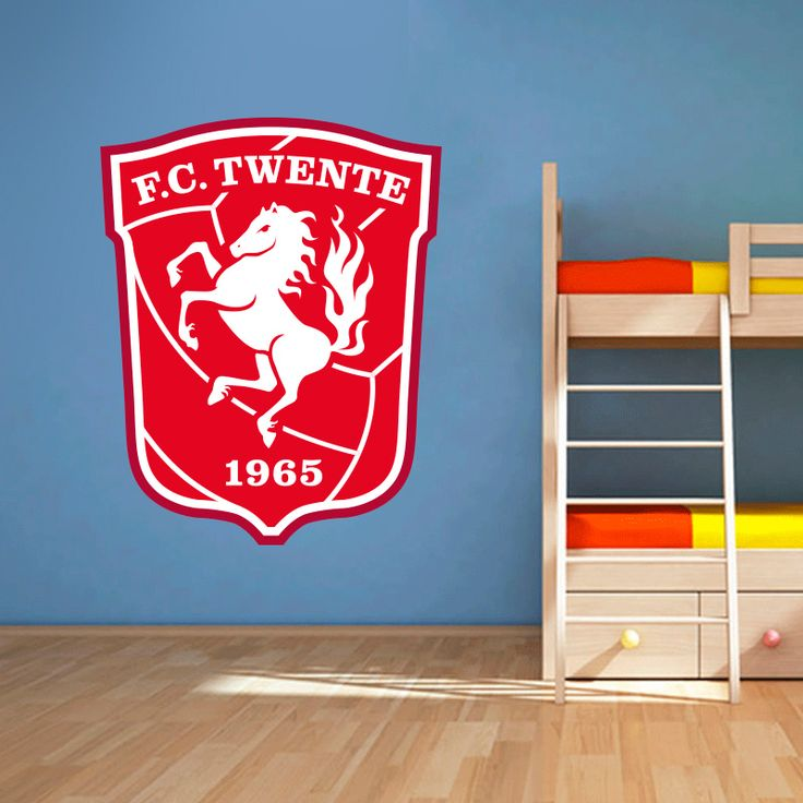 Muursticker FC Twente   Vrolijk die ene saaie muur op met een muursticker! Gemaakt van vinyl en gemakkelijk aan te brengen. Bekijk snel onze collectie! #muur #sticker #muursticker #slaapkamer #interieur #woonkamer #kamer #vinyl #eenvoudig #voordelig #goedkoop #makkelijk #diy #fctwente #twente #logo #embleem #rood #voetbal #sport