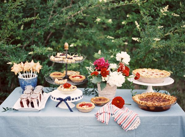 4th of July pie bar | Nicole Berrett