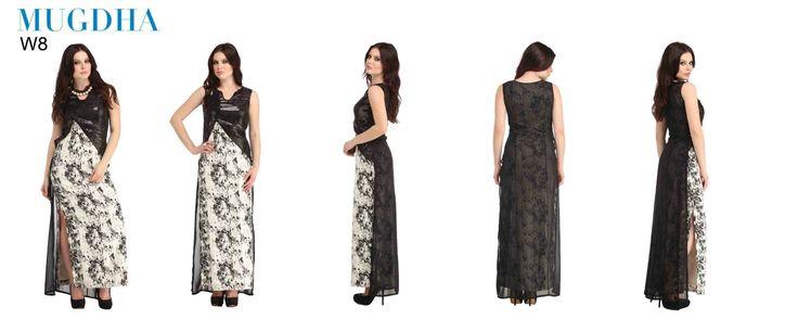 Mugdha Designer Gown Collections (8 pcs Catalog)