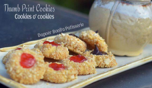 Thumbprint Cookies by. Dapoer Bonita Patisserie @Jambi Indonesia