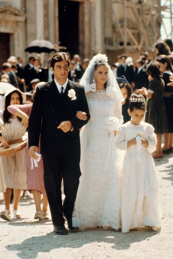 I want a very traditional, Roman Catholic, graceful classy old-world wedding and feel like Appollina and Michael in the Godfather lmao